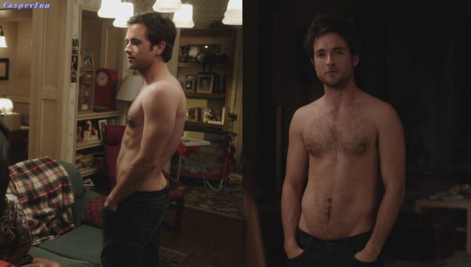 Justin Chatwin Nude Scene on Shameless